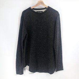 Wool pullover sweatshirt size small